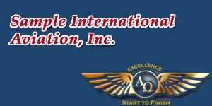 Sample International Aviation, Inc.