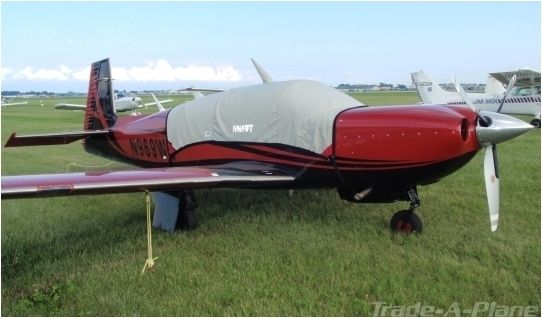 Bruce 39 S Custom Covers Mooney Tls Bravo Acclaim Tn Type S Aircraft Covers For Sale Morgan